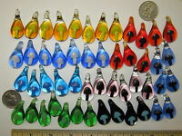 Mushroom Pendants 100 Large Glass Mushroom Bead Lot Wholesale Focal Mixed 1
