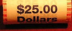 ~HEAD//TAIL~ 2007 D MINT BU THOMAS JEFFERSON $25 GOLD DOLLAR ROLL ~CHEAP PRICES~