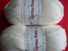 Mary Maxim Baby yarn Sea 306 yds each lot of 2