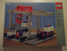 Lego 7823 CONTAINER CRANE DEPOT Train Cargo Station w/Box & Instructions