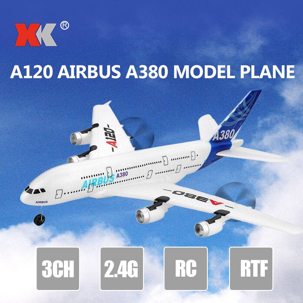 HOT Wltoys A120 A380 Model Plane 3CH EPP 2.4G RC Airplane Fi