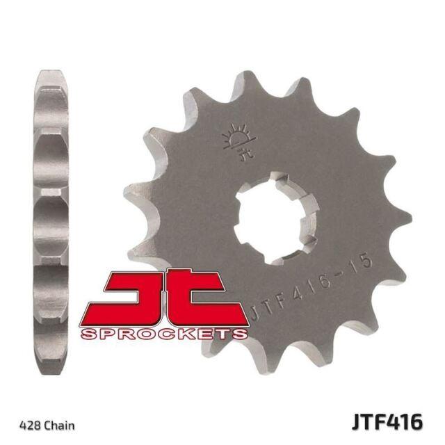 d'avant pignon JTF416.15 pour Yamaha DT125 MX (6 F.H.) (2A6/3YV) 1976-1982