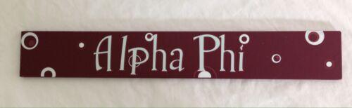 Alpha Phi Decorative Wall Plaque 20 Inch Sorority College Dorm Decor