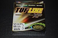 Tuf-line Xp White 15 Lb Test 150 Yards Multifilament Braid Fishing Line Xp15-150