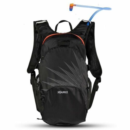 12L Cargo Pack Black Source Outdoor Fuse 3L Hydration System Red