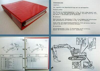 Ersatzteilliste Ca QualitäT O&k Rh6 Pms Hydraulikbagger Inspektion Wartung In 1989 üBerlegene