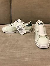 Rare Adidas Stan Smith Vintage, White/Gray And Green  Size 10
