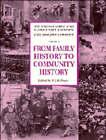 From Family History to Community History by Cambridge University Press (Hardback, 1994)