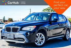 2012 BMW X1 28i XDrive Navigation Panoramic Sunroof Heated Front Seats Keyless Entry 17Alloy Rims