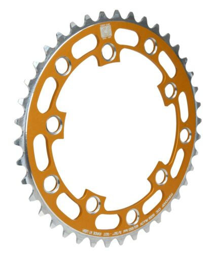 Porkchop BMX Chop Saw I single speed bicycle chainring 40T 110//130mm bcd GOLD