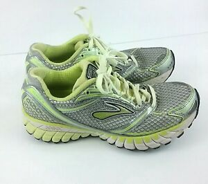 Size 7 Gray Neon Yellow Lime