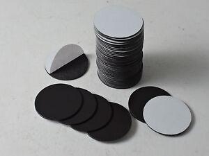 magnet takkis rund magnetpl ttchen magnetpunkte selbstklebend d32x1mm 50 st ck ebay. Black Bedroom Furniture Sets. Home Design Ideas