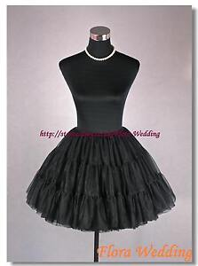 45-7cmL-50s-Vintage-Netz-Rock-Kostuem-Unterrock-n-Roll-Petticoat-Slip