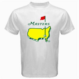 Masters-Golf-Tournament-LOGO-2020-tour-Men-039-s-T-Shirt-S-5XL-White