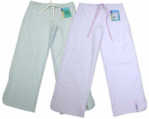 ROXY WOMEN/'S 3//4 PANTS CAPRI CROP TROUSERS JOGGERS LOUNGE BLUE-PINK UK 6-10 BNWT