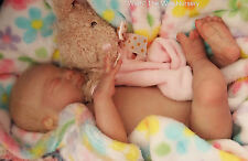 """Gorgeous Reborn Preemie  Baby Girl Rosie sold out LLE  """"Wirth"""" The Wait Nursery"""