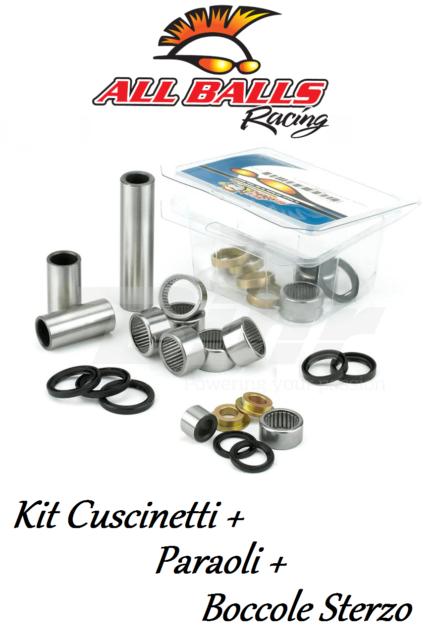All Balls 34190 Kit Cuscinetti+Paraoli+Boccole Sterzo Suzuki SP200 86-88