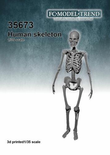 FC Model Trend 1//35 Human Skeleton 3d printed