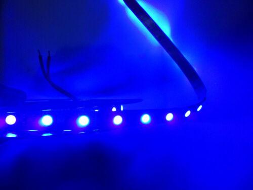 LED UV Lichtkette 5m395-405nm 5050 SMD Strip Streifen Schwarzlicht 12 V