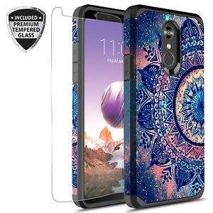 Details about For LG Stylo 4/LG Stylo 4 Plus Graphic Fashion Case W/ Glass  Screen Protector