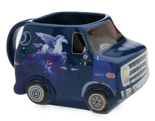 Disney Pixar Onward Guinevere Mug Barley's Van 18 Oz Ceramic Coffee Tea Mug