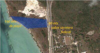 Se Vende terreno frente al mar en Campeche