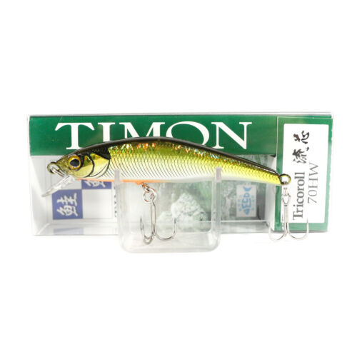 9921 Jackall Timon Tricoroll Ryushin 70 HW Sinking Lure Tennessee