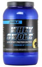 Swole Sports WHEY Lean Protein Matrix COOKIES N' CREAM - 2 lb OVERSTOCK SALE