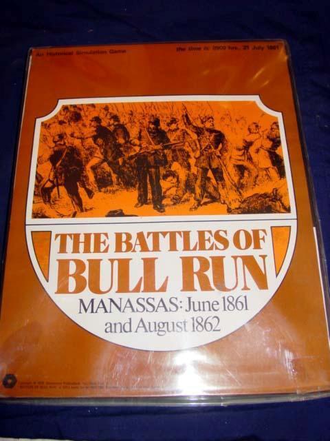 SPI - The Battles of BULL RUN - Manassas June 1861 & August 1862 (Punched)