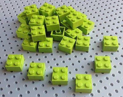 Lego Red 2x2 Brick 3003 x10 *BRAND NEW City Star Wars Pirate Minecraft
