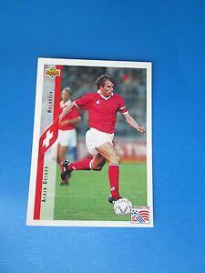 GEIGER-HELVETIA-SWITZERLAND-Carte-Card-UPPER-DECK-USA-94-1994-panini