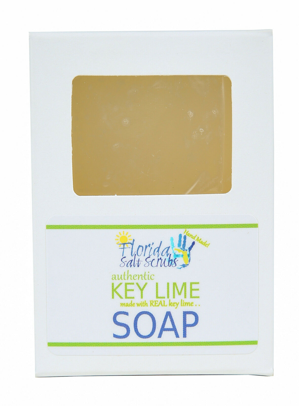 Florida Salt Scrubs Key Lime Soap 4 oz Bar