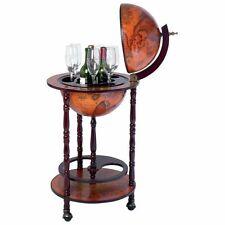 New Globe Bar Wine Liquor Cabinet Sixteenth-Century Italian Replica Old World