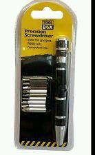 MINI DI PRECISIONE 9 in 1 Bit Scanalato Cacciavite Set di penne di riparazione
