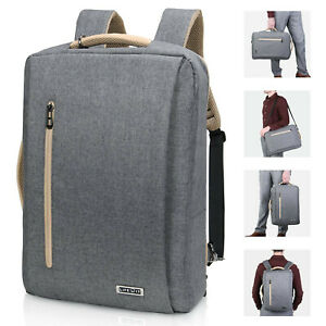 15-6-034-Men-039-s-Fashion-Travel-School-Large-Capacity-Laptop-PC-Computer-Bag-Backpack