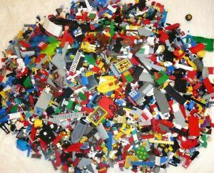 LEGO-1-kg-Konvolut-Kiloware-Steine-Sondersteine-1-Figur-Platten-Basics-Mischlego
