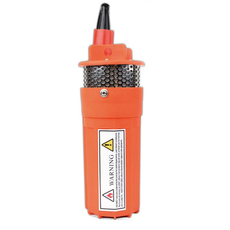 12V 24V Solar Batería Power pozos profundos Bomba de agua para el riego de elevación de 70m 230ft