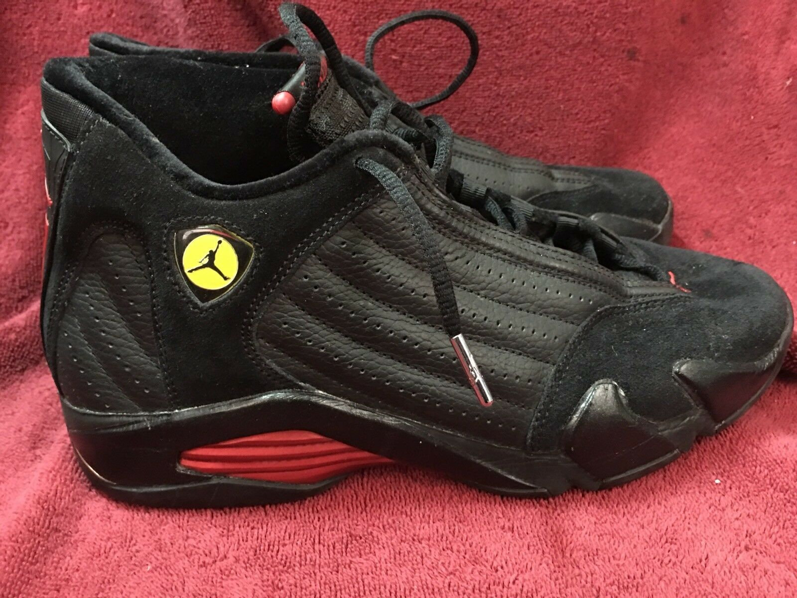 cheap for discount 4f267 44455 Men s Nike Air Jordan XIV 2005 Black Basketball shoes Sz Sz Sz 9.5  311832-002