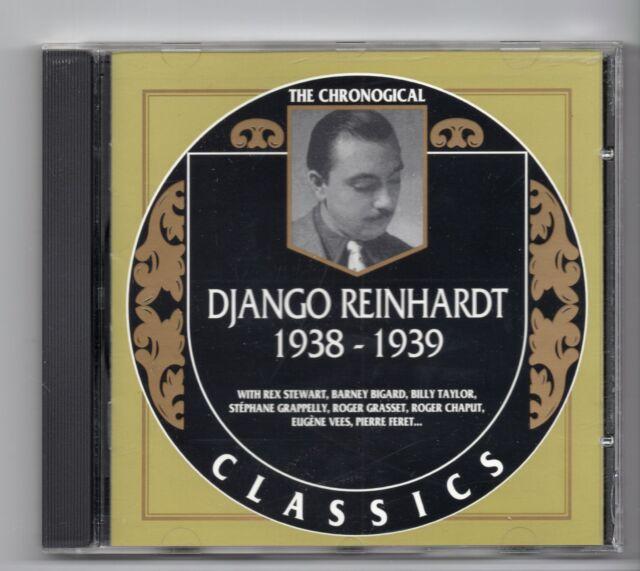 (JF542) The Chronological Classics: Django Reinhardt 1938-39 - 1994 CD