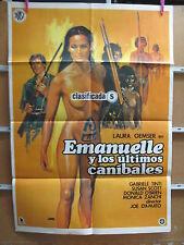 3791        EMANUELLE Y LOS ULTIMOS CANIBALES JOE D'AMATO LAURA GEMSER