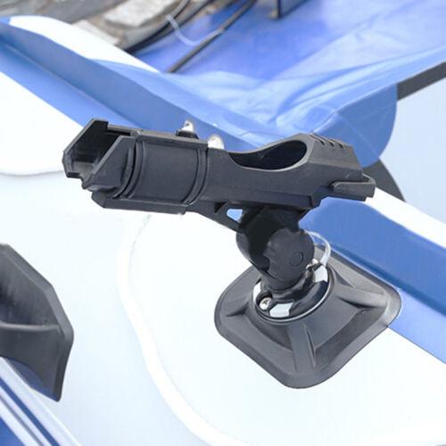 Durable 360° Adjustable Boat Fishing Rail Side Flush Mount Rod Holder Rest