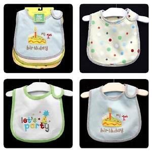 Baby first birthday ein 1 Jahr Geburtstag Outfit Set Junge blau