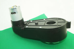 Details about 6 V / 12 V RS550 HIGH TORQUE GEARED MOTOR / GENERATOR SET  1000 RPM - 50000 RPM