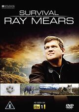 Ray Mears Survival Wildlife 2010 BRAND NEW AND SEALED UK REGION 2 DVD