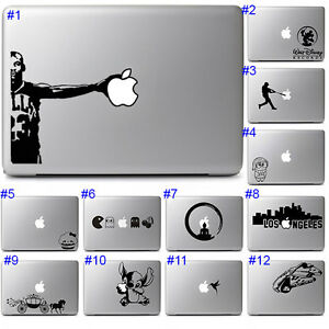 Apple Macbook Air Pro Laptop Decal Vinyl Sticker Cool Cute Fun Graphic Design