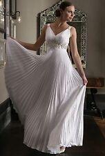 Stunning Empire Line V-neck Vintage Joyce Young Wedding Dress Size 16 RRP £1500