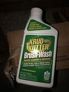6 Pk 32 Oz Krud Kutter Brush Wash Paint Brush Bristle Cleaner Renewer Bw326 Ebay