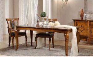 Cucina Soggiorno Classico.Dettagli Su Tavolo In Legno Arte Povera Inmtarsiat Tavoli Cucine Soggiorno Cucina Classico