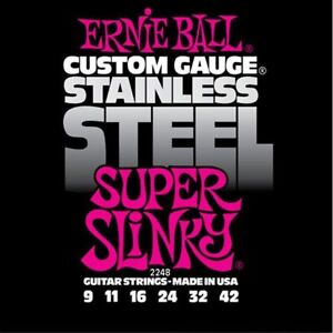 Ernie-Ball-2248-Stainless-Steel-Super-Slinky-Electric-strings-9-42
