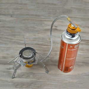 Adapter Inflatable Outdoor Valve Cartridge For Camping Stove Gas Hose Round